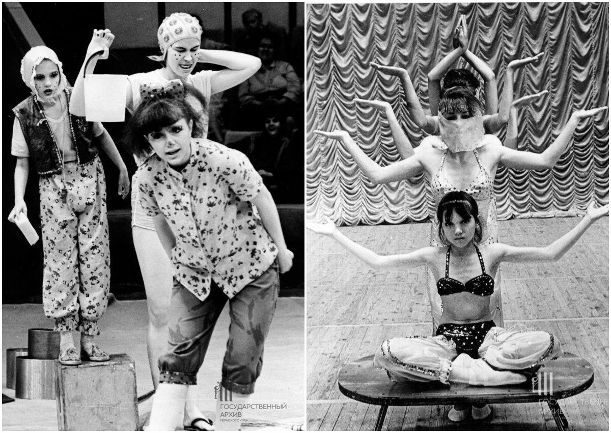 Артисты детского цирка