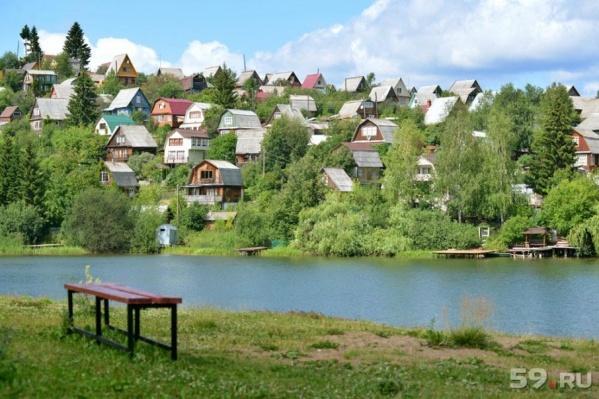 Пруд в Мотовилихе очистят от грязи и мусора в следующем году