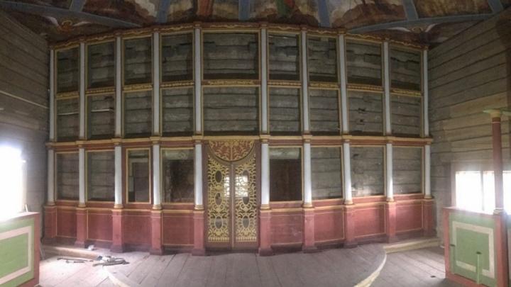 Большую реставрацию храмового комплекса в Кенозерье завершат до конца года