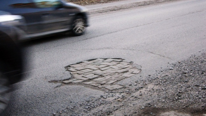 Заплата на заплате: ямочный ремонт в Архангельске вызывает массу вопросов
