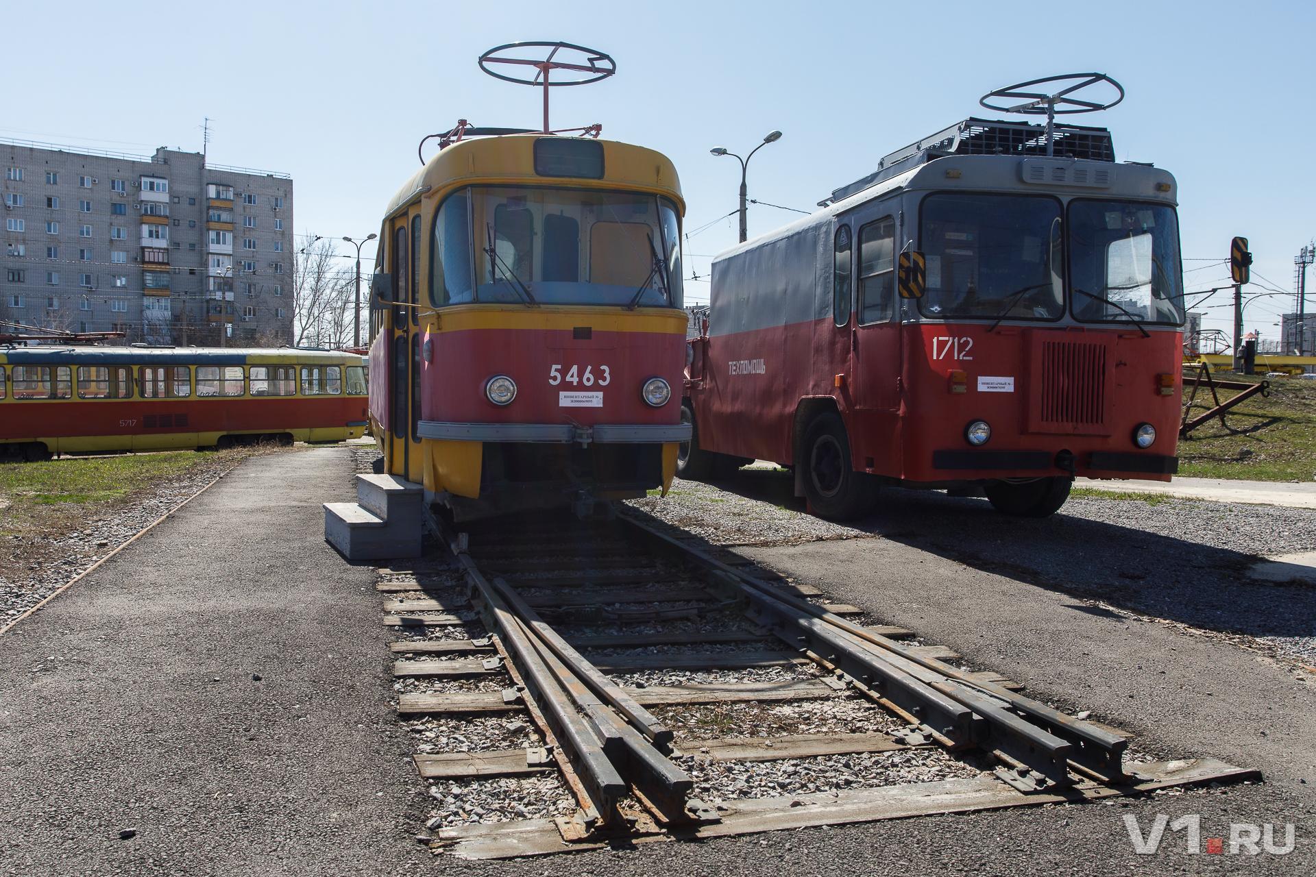 Чешский трамвай вышел на заслуженный отдых и стал почетным экспонатом музея