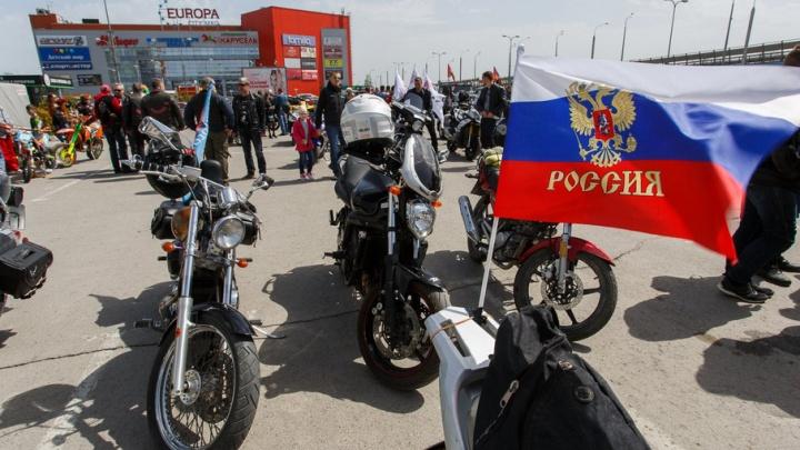 В Волгограде официально открыт мотосезон