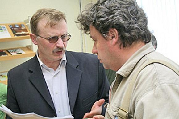 Илья Бояшов (слева) и Павел Крусанов