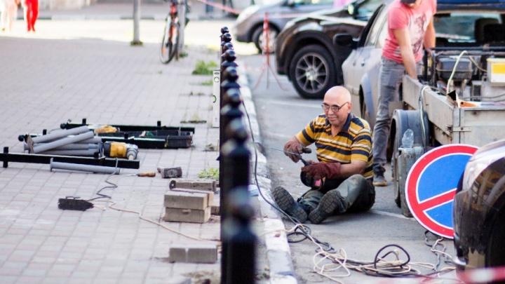 В Ярославле отложили снос чугунных оград на проспекте Ленина