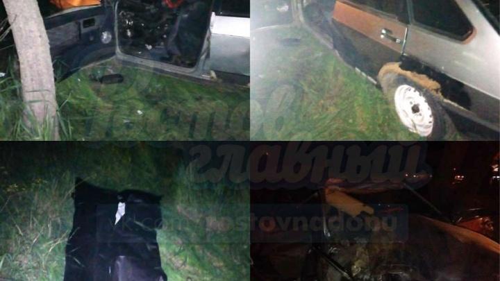 На трассе под Ростовом в ДТП погиб пассажир «Лады»