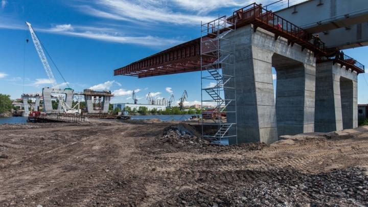 В Самаре стартовал второй этап строительства пролётов Фрунзенского моста