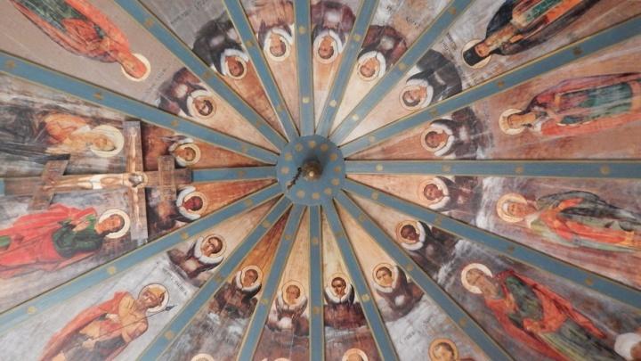 В Кенозерье в одну из церквей вернулось «небо»