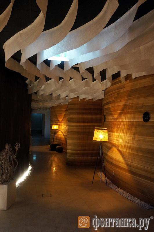 Интерьер в одном из отелей Бирштонаса