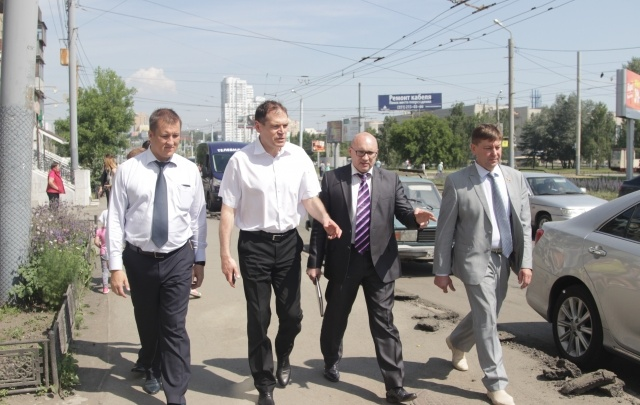 «Народный контроль Единой России» проверил дороги Челябинска