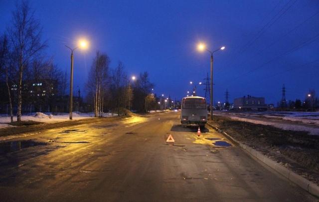 В Северодвинске плохие дороги стали причиной ДТП