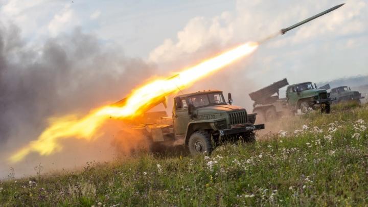 Военные дали огня: в Челябинской области прошли учения артиллеристов