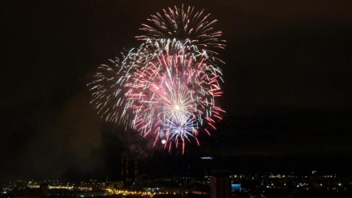 Парад, концерт Ларисы Долиной и красочный фейерверк. Как Пермь праздновала День Победы
