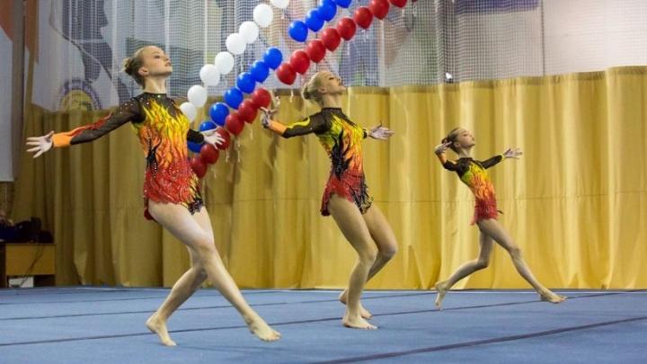 Архангельские акробатки взяли золото на зональном чемпионате