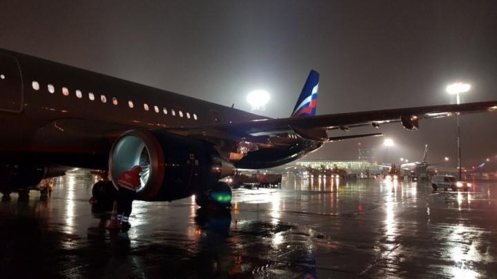 Из-за дождей и тумана в Волгограде задержали первый рейс на Москву