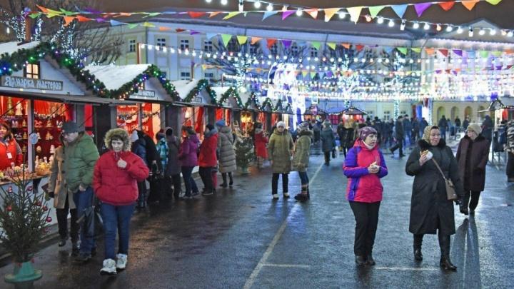Новогодняя ярмарка в Ярославле вошла в список самых популярных событий России