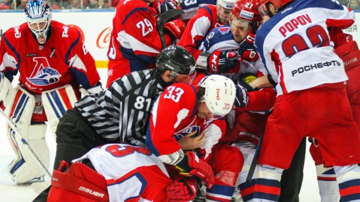 На следующей неделе в Ярославле начнется большой хоккей