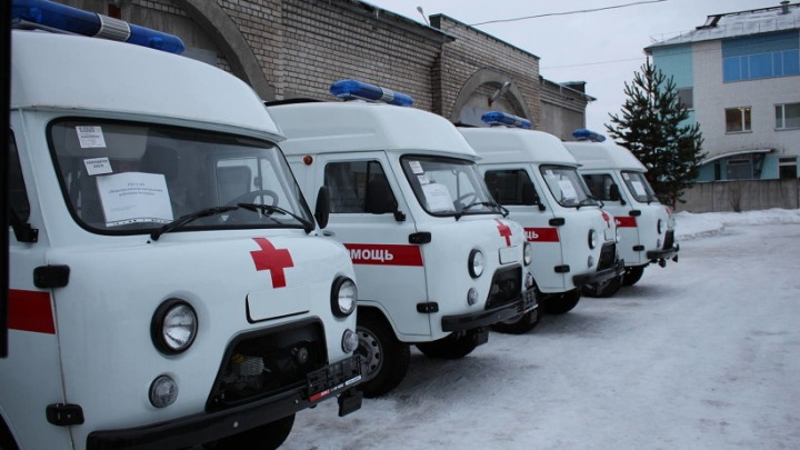 Поморье получило одиннадцать новых машин скорой помощи