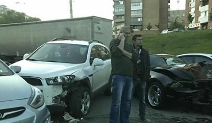 Тройное ДТП произошло в Северном микрорайоне Ростова