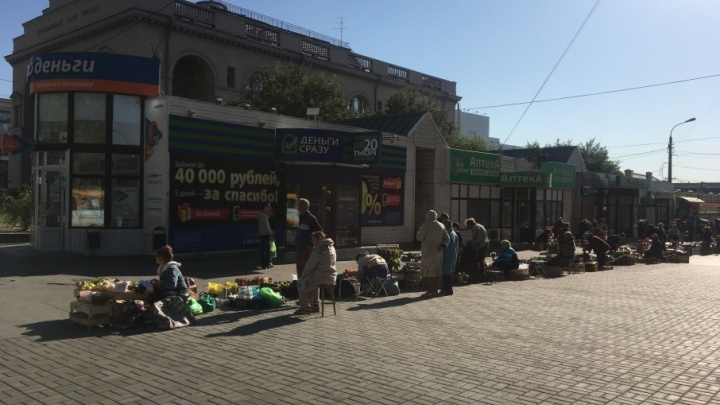 Волгоградцы просят избавить центр города от бабушек с морковкой