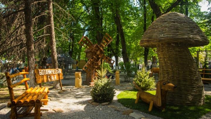 Последние штрихи: в Ростове завершается подготовка к фестивалю ландшафтного искусства