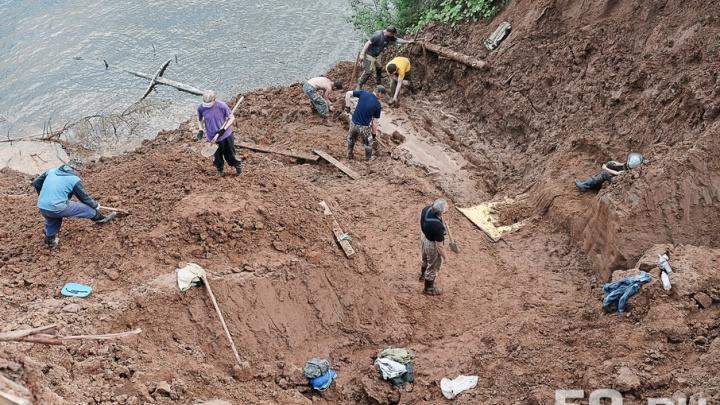 Кладбище древних животных: рассказываем, как в Прикамье идут раскопки трогонтериевого слона
