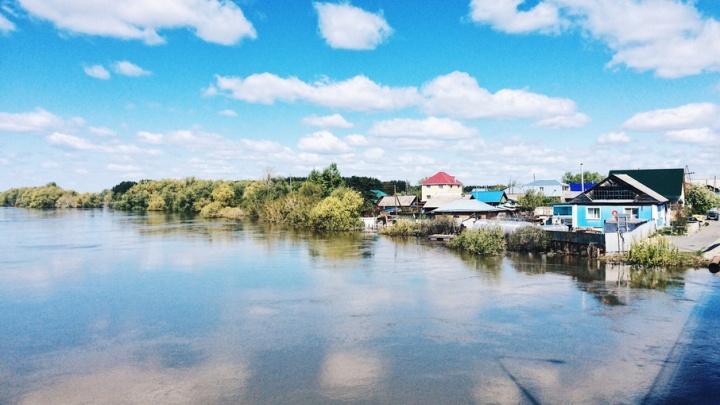 В Вагайском районе из-за паводка объявлен режим ЧС