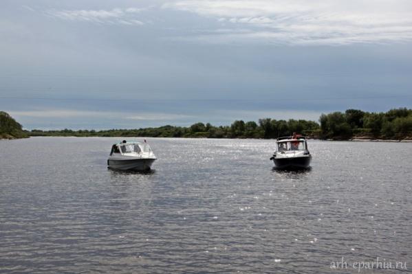 В водном маршруте участников крестного хода – три пункта
