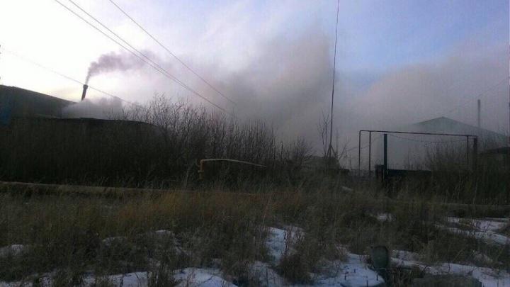 Завод под Челябинском остановили из-за выбросов