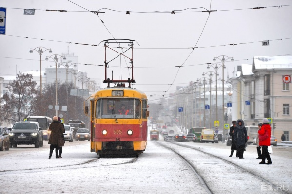 Новые старые трамваи выйдут на линию в 2018 году