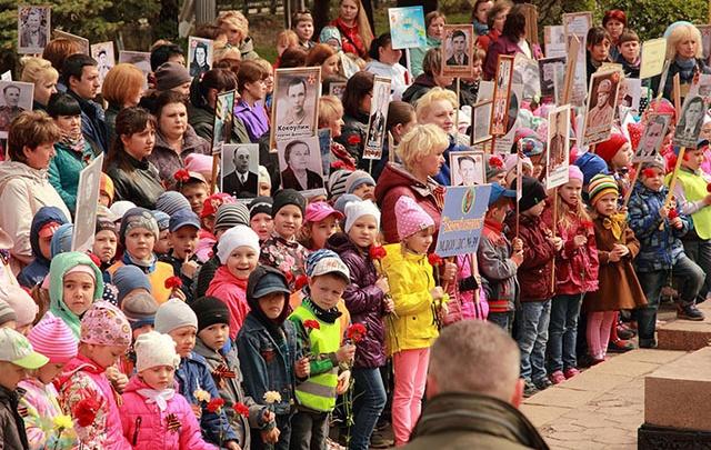 Самые маленькие жители Копейска почтили память своих прадедов