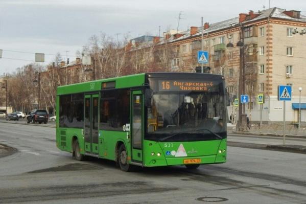 Необычный автобус увидели прохожие