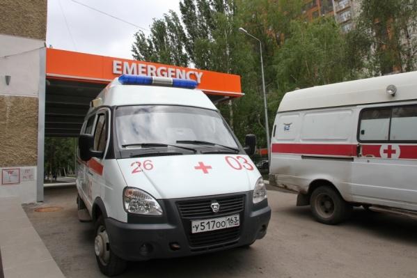 Одновременно к медучреждению могут подъехать 4 машины первой помощи