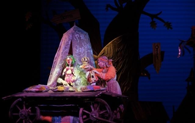В Пермском театре кукол показали новый спектакль по сказкам Пушкина