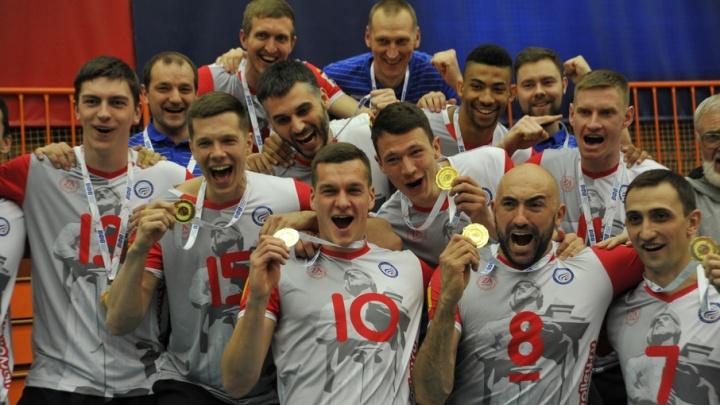 Ярославские волейболисты завоевали золотые медали чемпионата России