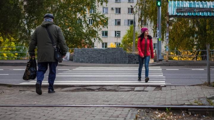 Лестницы, ведущие к одной из крупнейших больниц Челябинска, начали ремонтировать