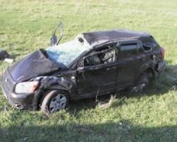 Разбитый Dodge обошелся дорожникам в 600 тысяч