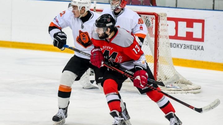 Хоккейный клуб «Ермак» разгромил «Молот-Прикамье» в Ангарске