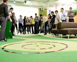 БАНК УРАЛСИБ провел игру в гольф для клиентов