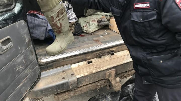 На «танцующем» мосту в Волгограде взяли браконьеров с убитыми косулями
