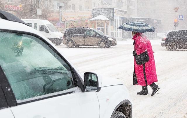 Снег и мороз идут на Волгоградскую область