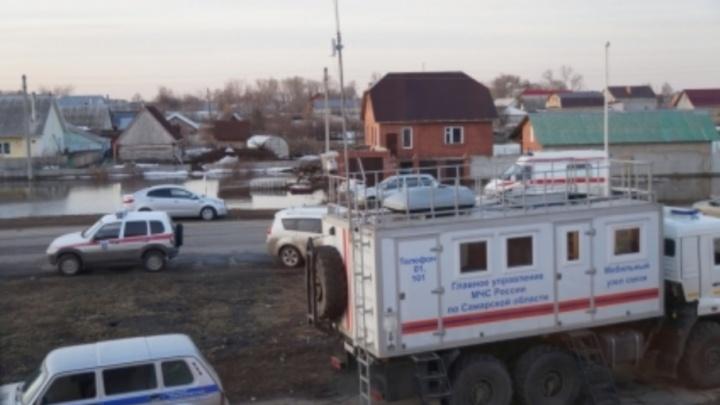 На полуострове Копылово в Тольятти подтопило 66 дачных участков