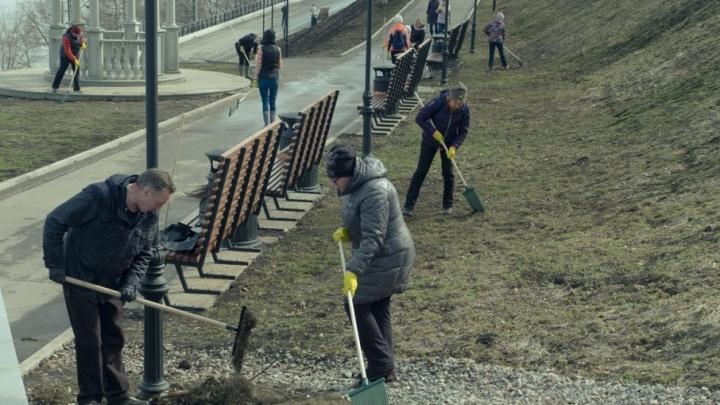 «На субботник выйдет каждый десятый житель»: пермяков позвали на весеннюю уборку города