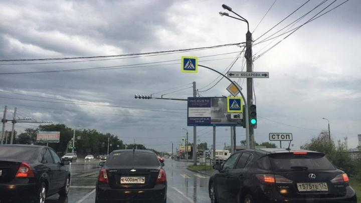 Видны с третьей полосы: на пешеходных переходах Челябинска установят 1000 новых знаков
