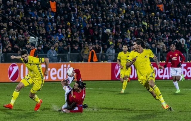 «МЮ» сыграет в 1/4 Лиги Европы с командой, вылетевшей от «Ростова» из ЛЧ