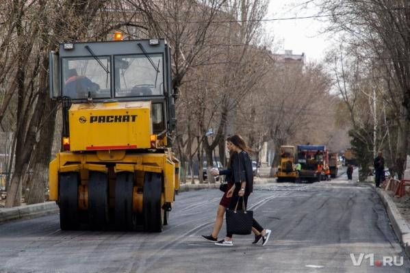 Новое дорожное покрытие должно прослужить минимум до 2023 года