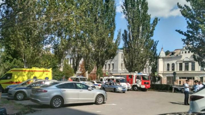 На территории администрации Ростовской области проводятся учения