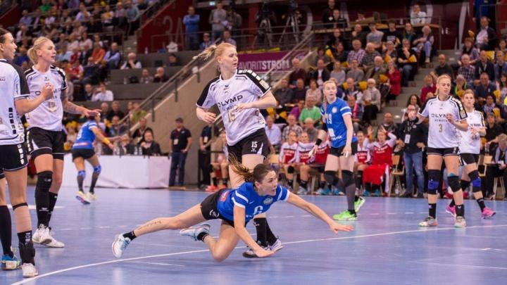Донские гандболистки обошли германский «Битигхайм» в первом финальном матче Кубка ЕГФ