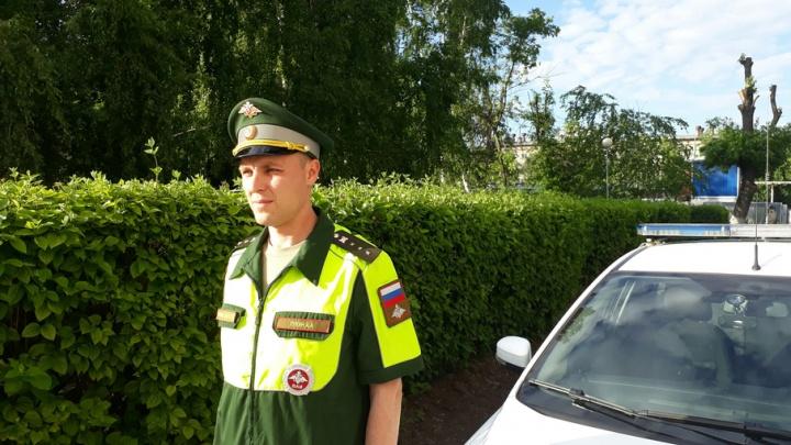 Лучший инспектор ВАИ Самары примет участие во всеармейском конкурсе «Дорожный патруль»