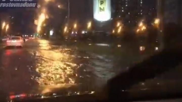 После потопа на Левенцовке власти пообещали новые ливневки в районе