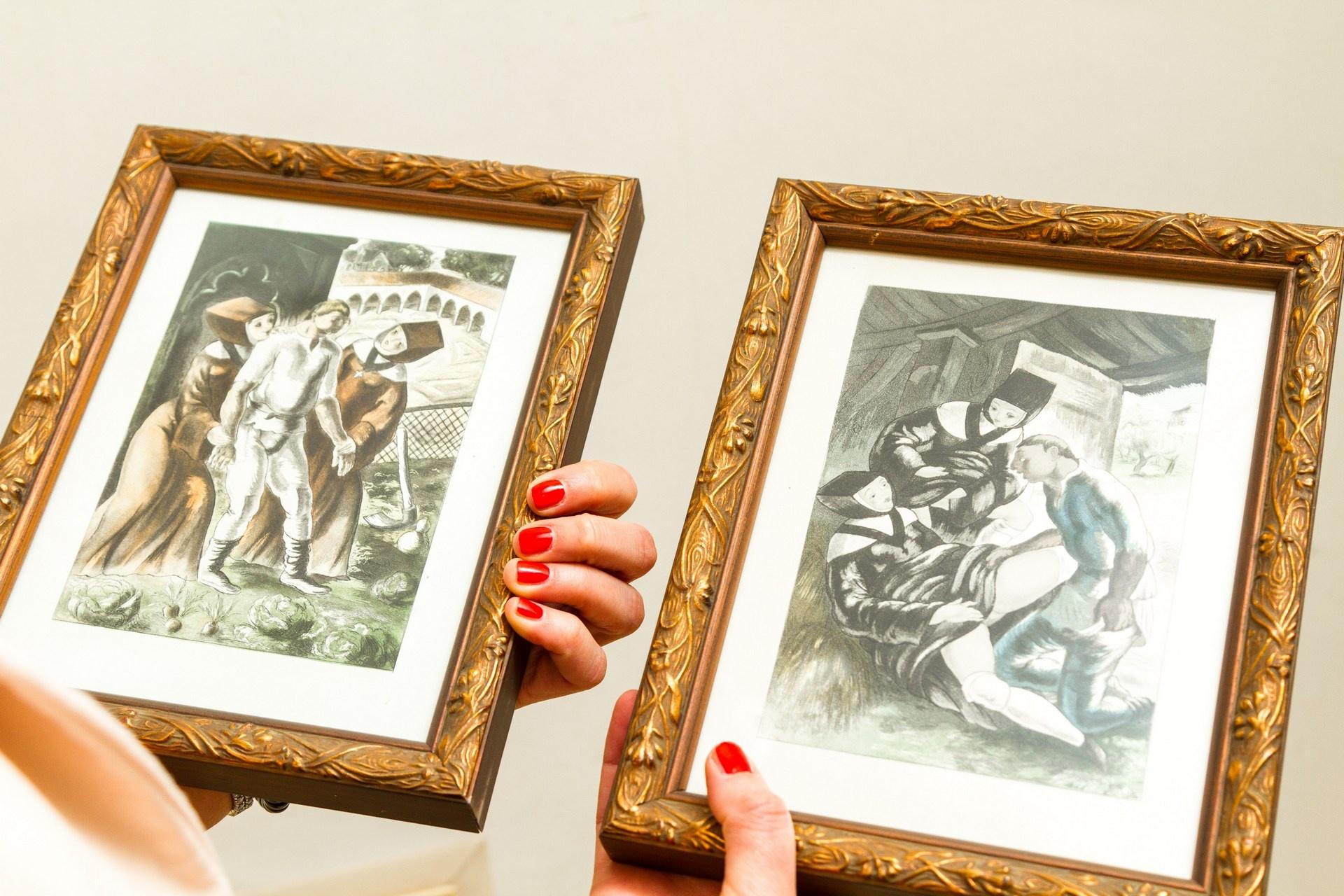 Иллюстрации Луи Бертома Сен-Андре к «Декамерону»